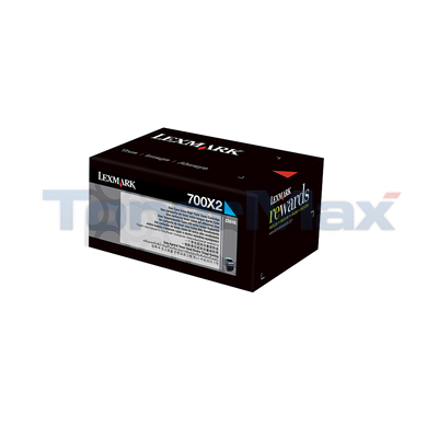 LEXMARK CS510 TONER CARTRIDGE CYAN 4K